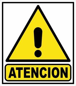 atencion!