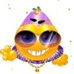 emoticono de carnaval