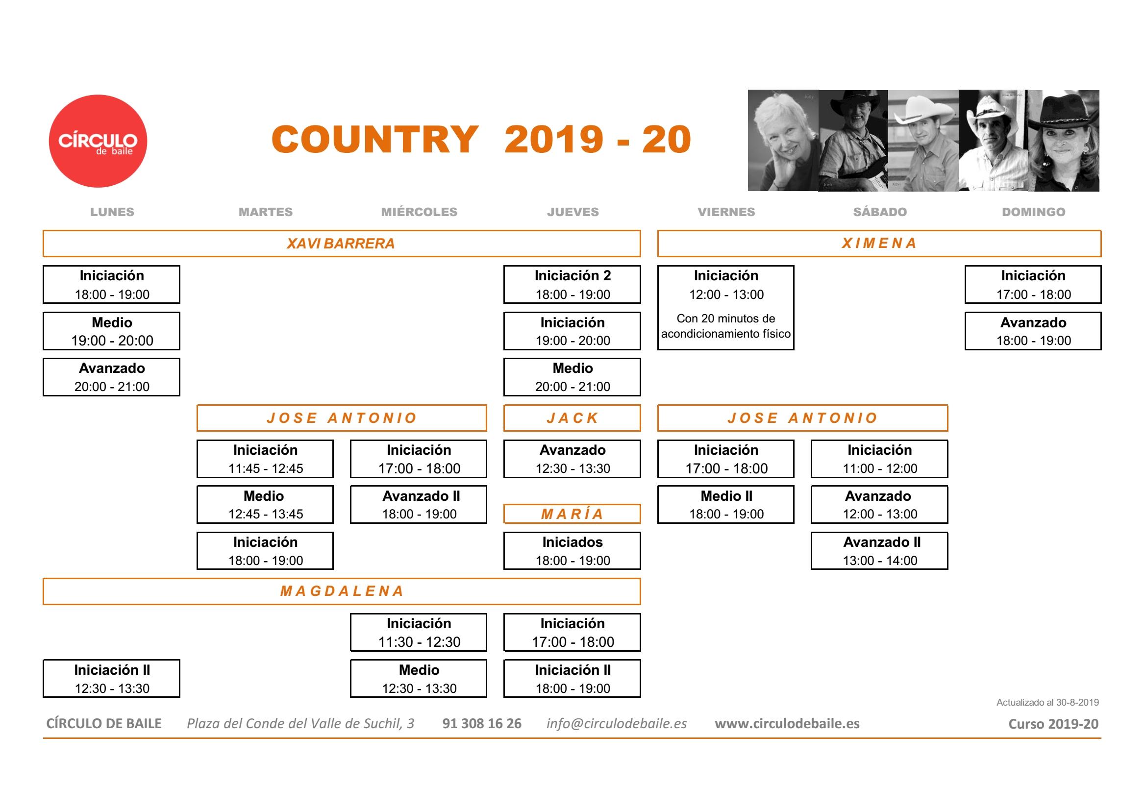 CIRCULO DE BAILE CURSO 2019-2020